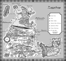 Small version of Zarathan Map